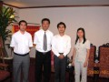 2009 visiting Vietnam Chamber of Commerce and Industry(VCCI)& attracting investment of three major trading ports