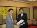 2008 Visiting Malaysia Klang Chinese Chamber of Commerce and Industry for trade fair