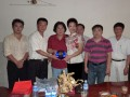 2010 Visiting Cambodia-China trade promotion association for Investment Talks