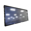 Flat panel solar collector