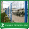 Protecting welded wire fencing