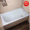 drop-in cast iron bathtub