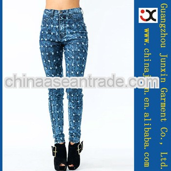 2013 bleach wash hole jeans fashion for sale american wholesale jeans (JXL20867)
