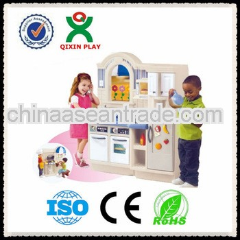 2013 kindergaten toy/kitchen toy for kids/plastic kitchen set toys QX-B7802