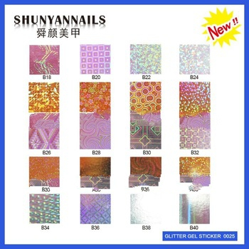 2013 nail foil sticker halloween decoration stickers handle