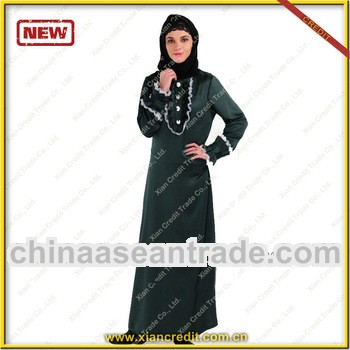 2014 Wholesale fashion design muslim women clothing