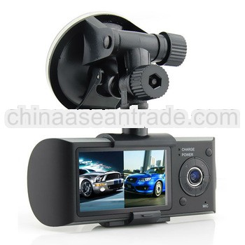 2.7inch LCD 140deg angle dvr GPS and G-sensor in car cam