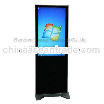 42inch lcd panel vertical screen stand video computer kiosk