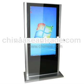 55inch totem display stand computer lcd screen