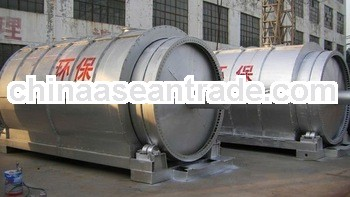Bolier container board waste tyre recycling equipments