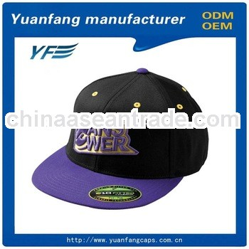 COTTON TWILL METAL PLATE WHOLESALE BLANK SNAPBACK HATS