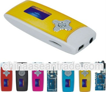 Cheapest Mp3 support TF card Mp3 player