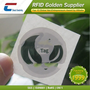Custom Ntag203 NFC adhesive label