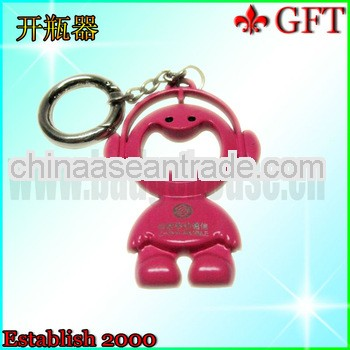 Cute design plastic bottle opener for promotion gifts