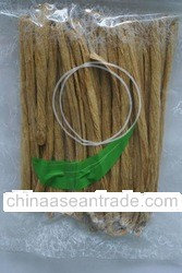 Dried bean curd stick or knot for organic farming