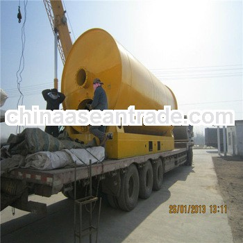 Environmentally friendly waste tires pyrolysis equipment