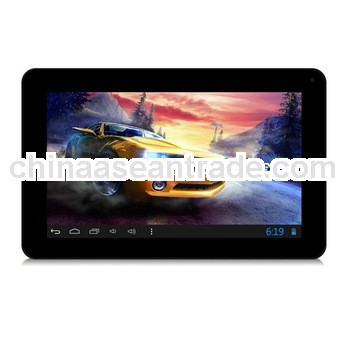 Fashionable design with Dual Camera tablet pc with capacitive screen