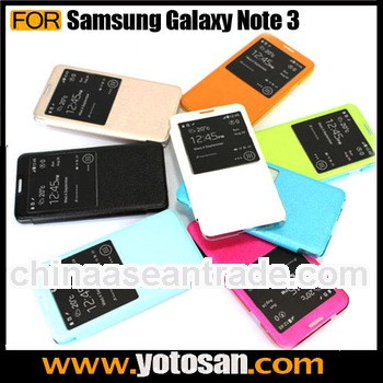 For Samsung Galaxy Note 3 N9000 Leather Flip Case