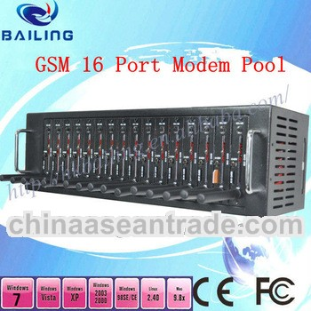 GSM 16 Port Modem Pool for Send bulk SMS MMS GSM Modem Pool