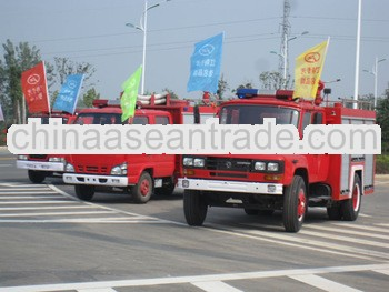 HOWO 4*2 drive 6 wheels water fire truck