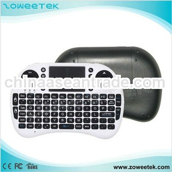 Handheld 2.4g mini wireless keyboard for android
