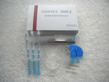 Home teeth whitening kit with LED light