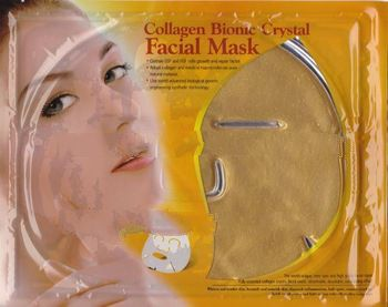 NEW ! 24k gold collagen crystal mask
