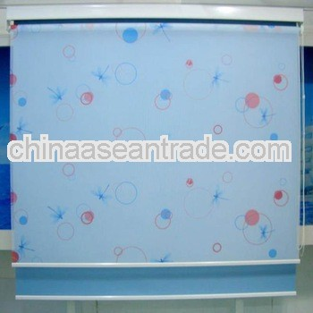 Printed Roller Shades With Various Colors