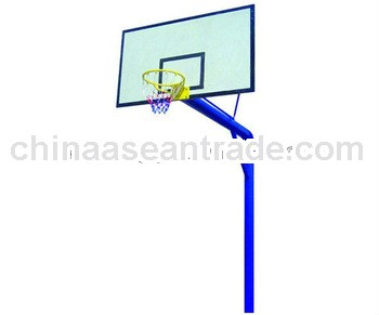 Single Branchial Basketball Stand(buried into Ground)