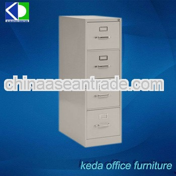 Steel 4 Drawers Office Cupboard Design
