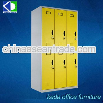 Steel Storage Locker Cabinet Clothes Garderobe