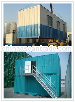 Storage Container house with EPS sandwich panel