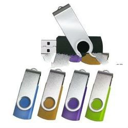 Swivel usb flash drive, usb thumb drive singapore gift