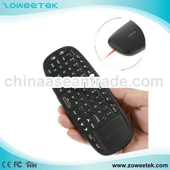 bluetooth keyboard with laser pointer for smart tv