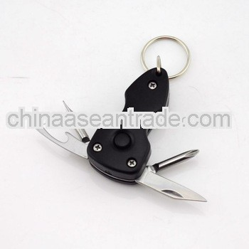 bottle opener key chain with light