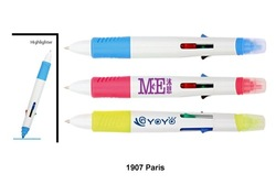 Promotional Multi Function 5 in 1 colors Pens & Highlighter