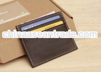 cheap pu leather cards holders for promotional gifts wholesale