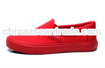 cheap slip on red shoes for men vulcanized shoe sole rubber sheet sheos
