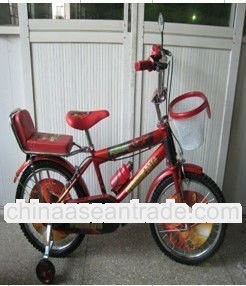 cool boys spider man bicycle with wind dish