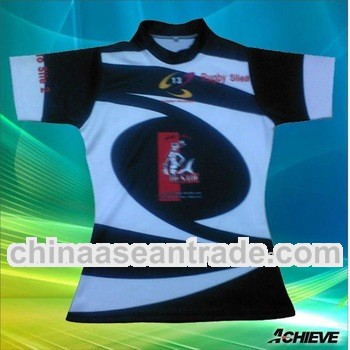 customized sublimation rugby wear