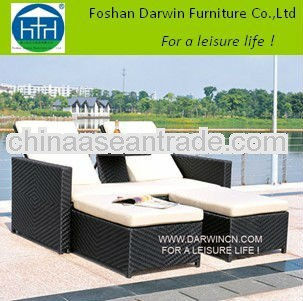 double outdoor round lounge SV-4856
