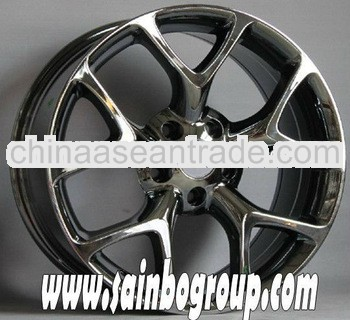 good quality well polished car alloy wheel rims bbs