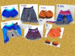 Crochet Clothes for Handcrafted Doll