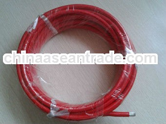 heat resistant fiberglass braid silicone rubber electric wire and cable 16mm for sale