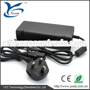 long warranty ac adapter charger for xbox360 slim with factory price/EU/UK/AU/US plug available
