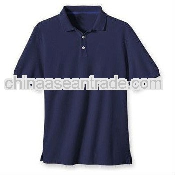 navy blue new design custom polo shirt for men