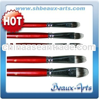 paint brush hair material,synthetic fibers painting brushes
