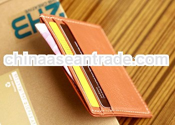 personalized leather wallet slim design for multiple cards