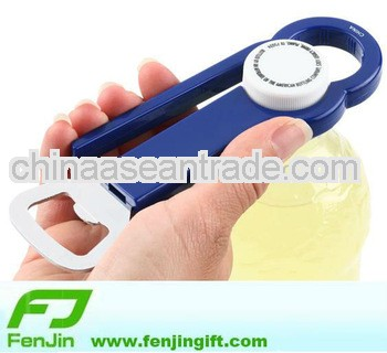 promotional plastic handle beer cap bottle opener