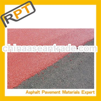 road construction for cold coroled mixture bitumen